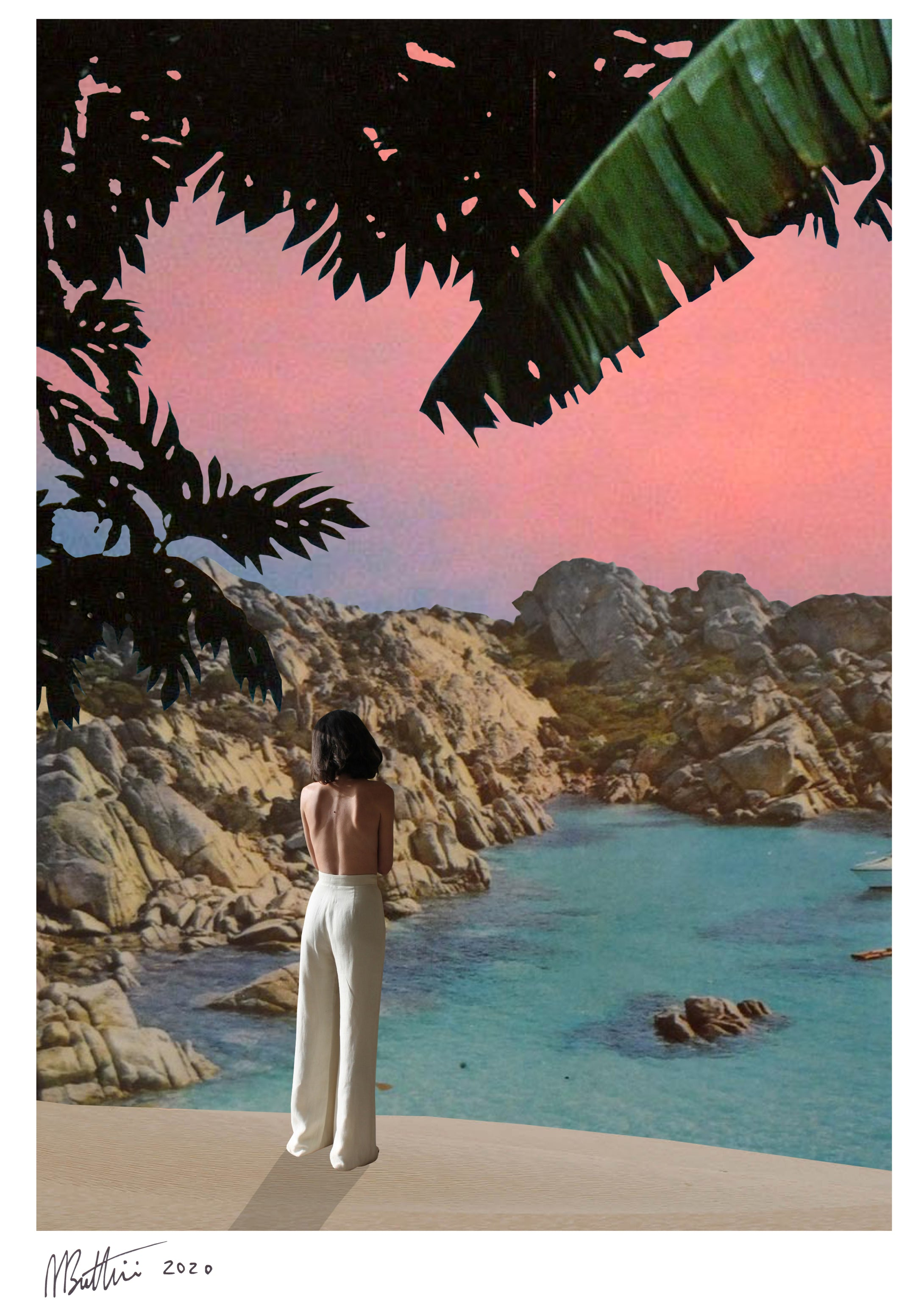 Sunset Volume II - Madbutt | Australian Collage Artist & Fine Art