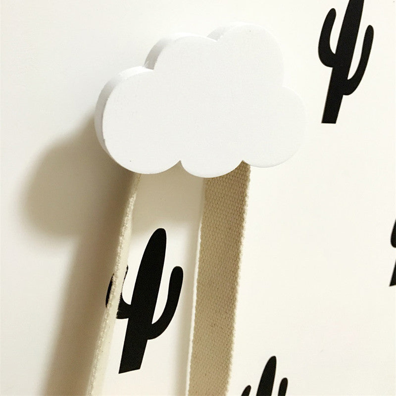 Cloud Wooden Hook
