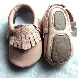 Genuine Leather Baby Moccasin