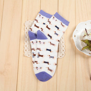 Adult Sausage Dog Socks