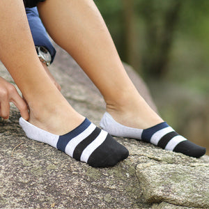 Unisex Adult Invisible Socks - 5 Pack