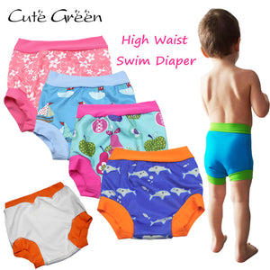 High Waist Baby Swim Diaper