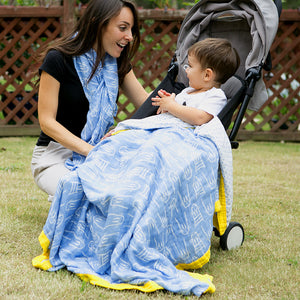 2 Layers Muslin Baby Blanket