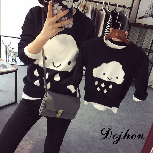 Cloud Family Sweater