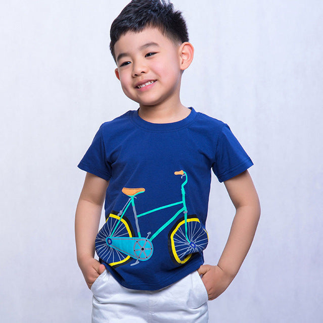 Summer Bicycle Tee