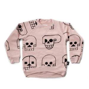 2018 Nununu New Skull Robot Pattern Clothes