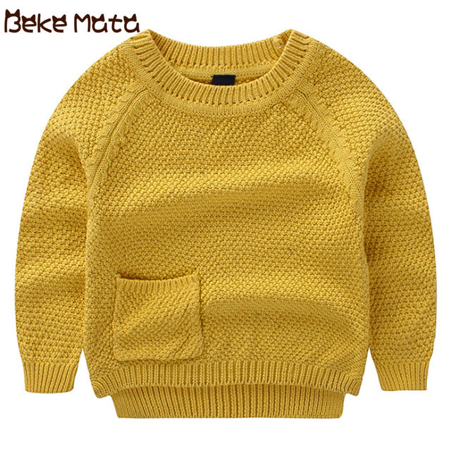 Beke Mata Autumn Pocket Knit Sweaters