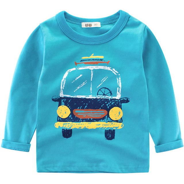 Bus to the Beach Thick Long Sleeve Tee