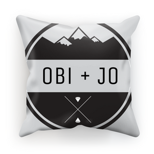 O + J Pillow Case