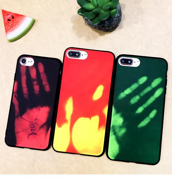 The world's first color-changing mobile phone case will change color with temperature, which is amazing!