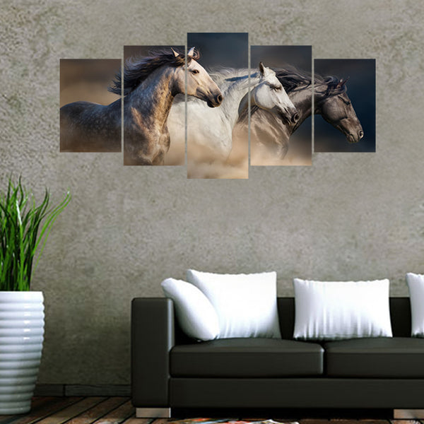Horse galloping combination of creative wall sticker