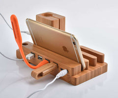 Multi-function desktop charging stand for iwatch/iphone