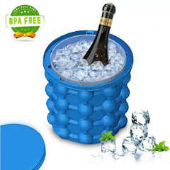 Champagne silica gel ice container