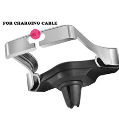Air outlet mobile phone gravity bracket for car