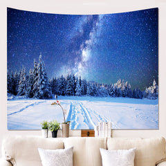 Home 3D starry wall covering background