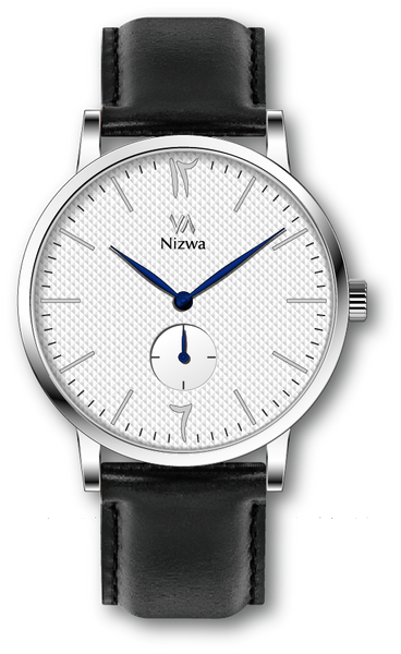 Nizwa Watches Collection Oud : Montres Nizwa Silver/White