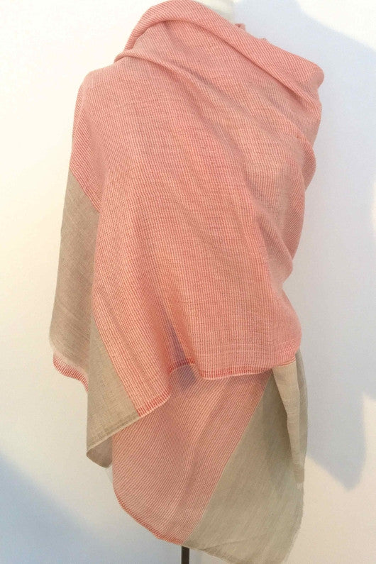Dusty Rose Scarf-Scarves-Marentique