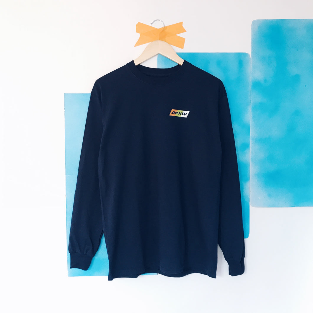 The Bright Path Long Sleeve - Navy
