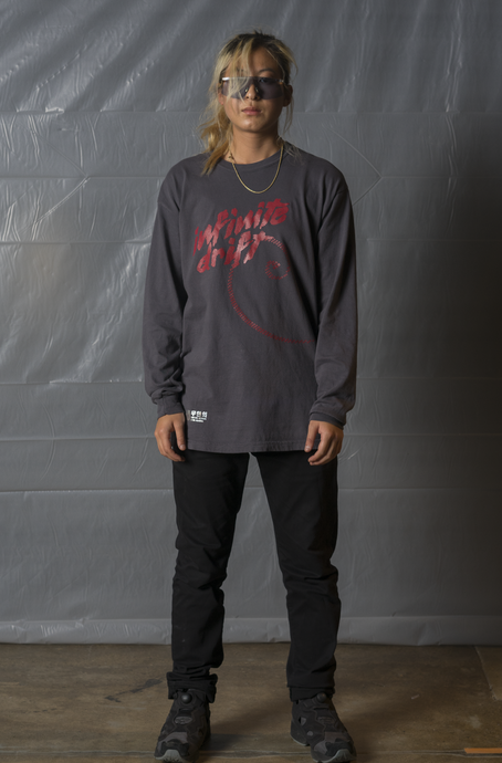 Drift Long Sleeve - Granite