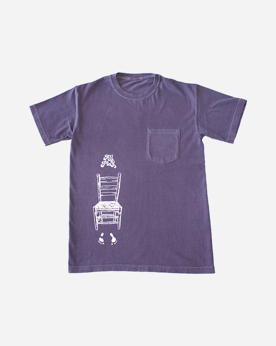Error Pocket Tee - Plum