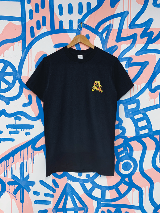 Kyle Confehr x All Play Collab Tee - Black