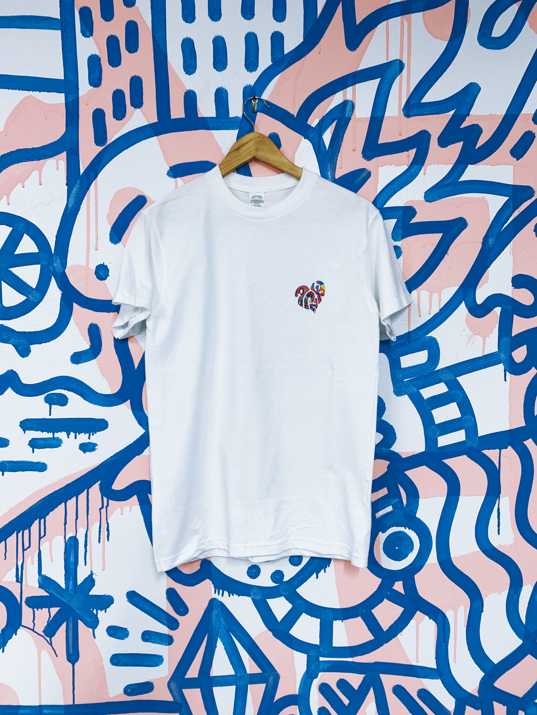 Kyle Confehr x All Play Collab Tee - White