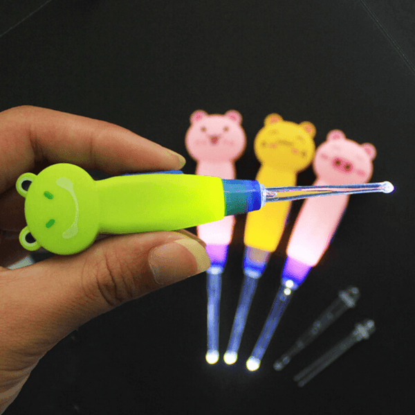 LED Ear-Wax Remover