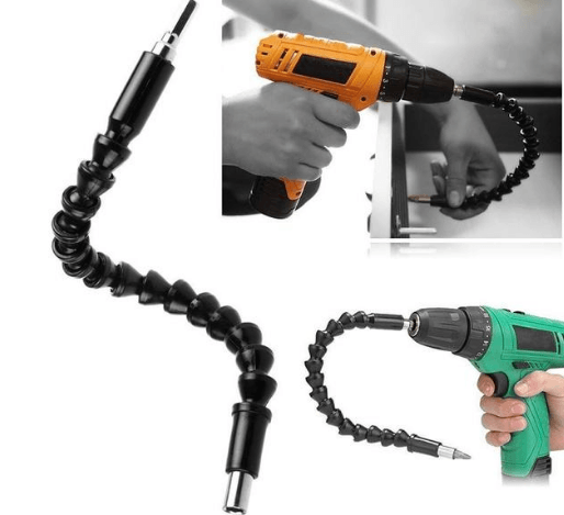 Flexible Electric Drill Extension Shaft
