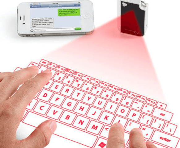 Wireless Laser Projector Keyboard