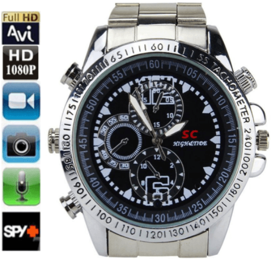 iSpy Metropolitan 8GB Watch