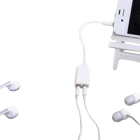 Audio Headphone & Headset Splitter