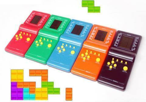 Retro Tetris Game