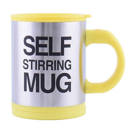 Self Stirring Thermal Coffee Mug