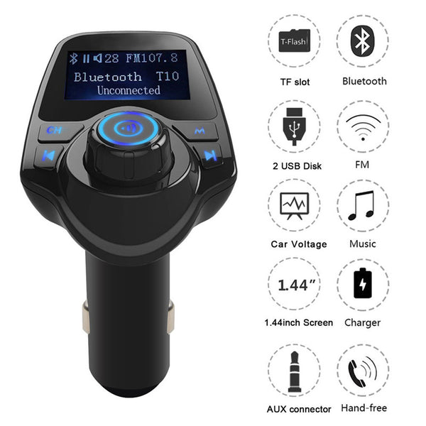 Universal Bluetooth Wireless FM Transmitter