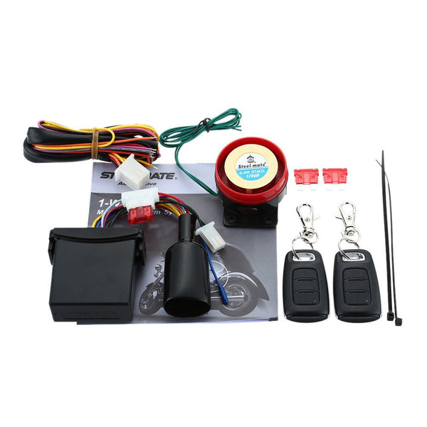 RealSteal Motorcycle Alarm System