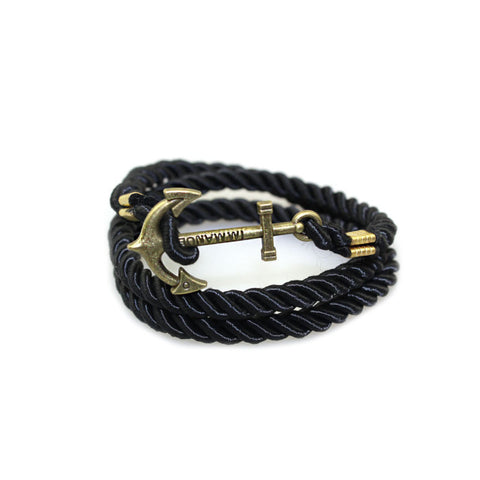 Gold Color Anchors Bracelet - SKIPPERMYBOAT
