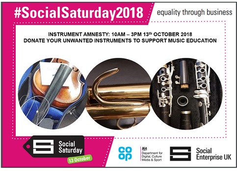 Social Saturday - join our instrument amnesty