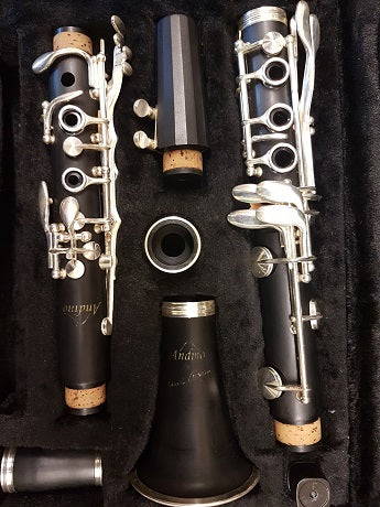 Second hand: Andino Bb Clarinet by Luis Rossi (fully serviced) - one only