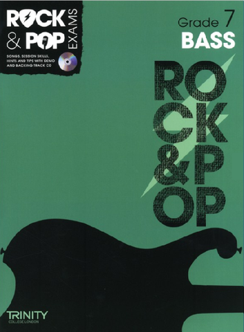 Trinity College London: Rock & Pop Bass Guitar - Grade 7 (2012-2017)