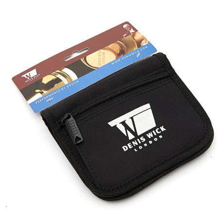 Denis Wick 3-Piece Nylon Mouthpiece Pouch, fits Trumpet, Cornet, Flugelhorn, or French Horn