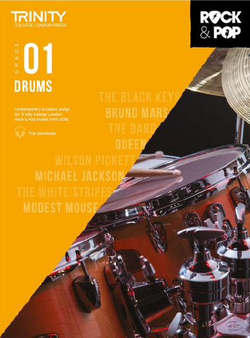Trinity College London: Rock & Pop Drums - Grade 1 (2018)