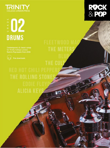 Trinity College London: Rock & Pop Drums - Grade 2 (2018)