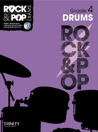 Trinity College London: Rock & Pop Drums - Grade 4 (2012-2017)