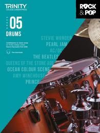 Trinity College London: Rock & Pop Drums - Grade 5 (2018)