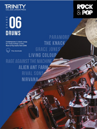 Trinity College London: Rock & Pop Drums - Grade 6 (2018)