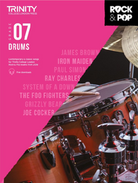 Trinity College London: Rock & Pop Drums - Grade 7 (2018)