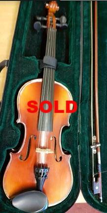 Second hand Maxtone 3/4 size violin (one only)