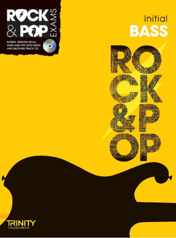 Trinity College London: Rock & Pop Bass Guitar - Initial Grade (2012-2017)