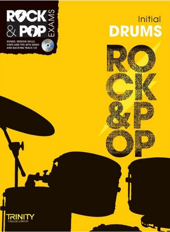 Trinity College London: Rock & Pop Drums - Initial Grade (2012-2017)