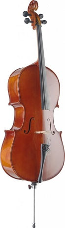 Ex-demo: Stagg 1/2 maple cello with carrying bag (one only)